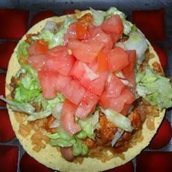 Chicken Tinga Tostados Allrecipes.com