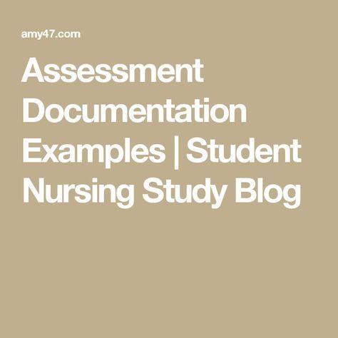 Best 25+ Nursing documentation examples ideas on Pinterest - subjective objective assessment planning note