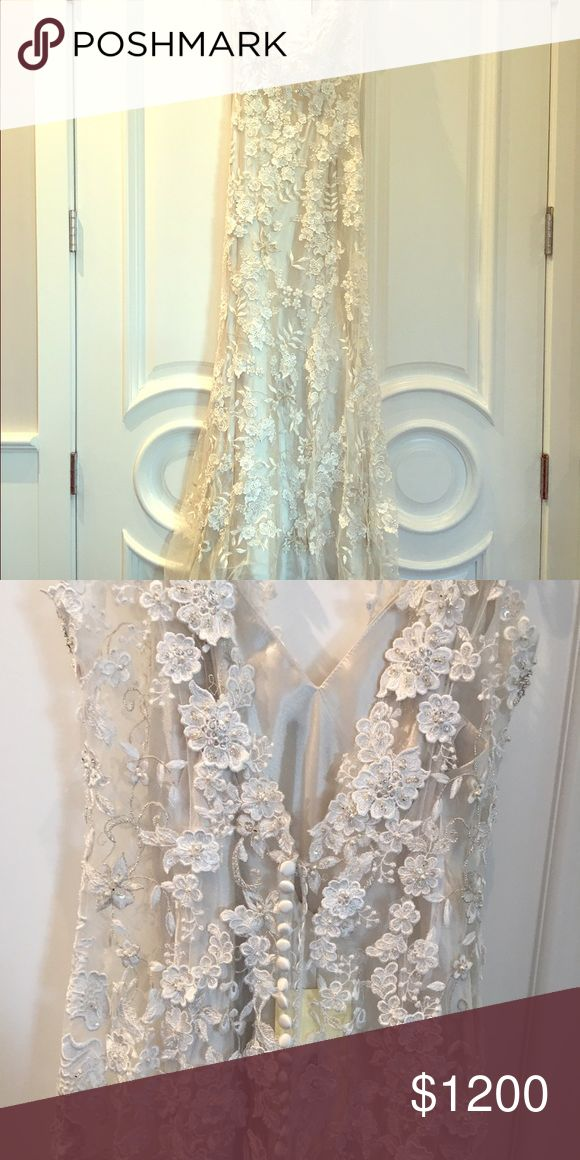 Allure Bridal Wedding Dress Stunning Allure Bridals dress, style 8800, never worn, with tags still attached. Allure Bridals Dresses Wedding