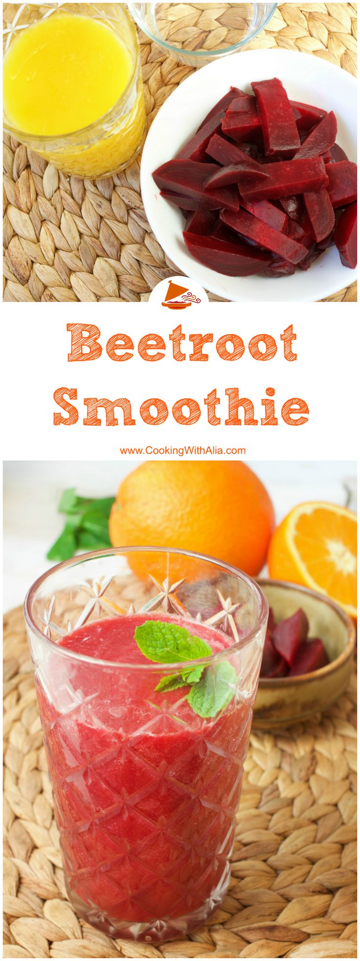 Here is the ultimate recipe to keep you healthy! Beetroot Smoothie is with no doubt a super food which you will enjoy. Check how you can make it and enjoy a happy healthy life  <3 #Morocco_cuisine #CookingWithAlia