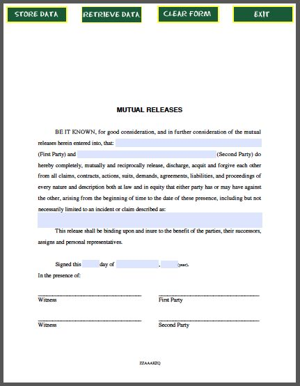 Mutual Agreement Between Two Parties Free Contract Templates Word Pdf  Agreements, Non Disclosure Agreement Between Two Companies Template Sample,  ...  Mutual Agreement Between Two Parties
