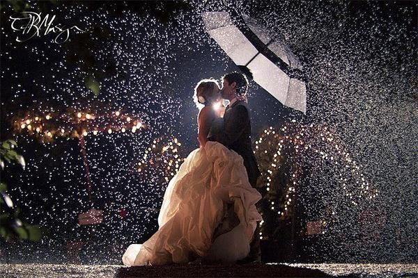 Ecco alcuni preziosi consigli su come organizzare le #nozze in caso di pioggia