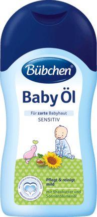 Bübchen Baby Öl pflegt zarte Babyhaut mit Sonnenblumenöl und Sheabutter. Es ist ideal geeignet nach dem Baden, für die sanfte Reinigung beim Windelwechsel...