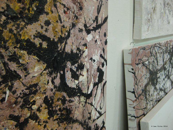 At my Studio 2014