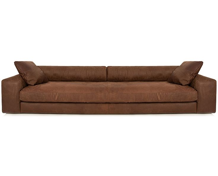 St. Helena 3 Seater Sofa (Leather) - Furniture | Weylandts South Africa