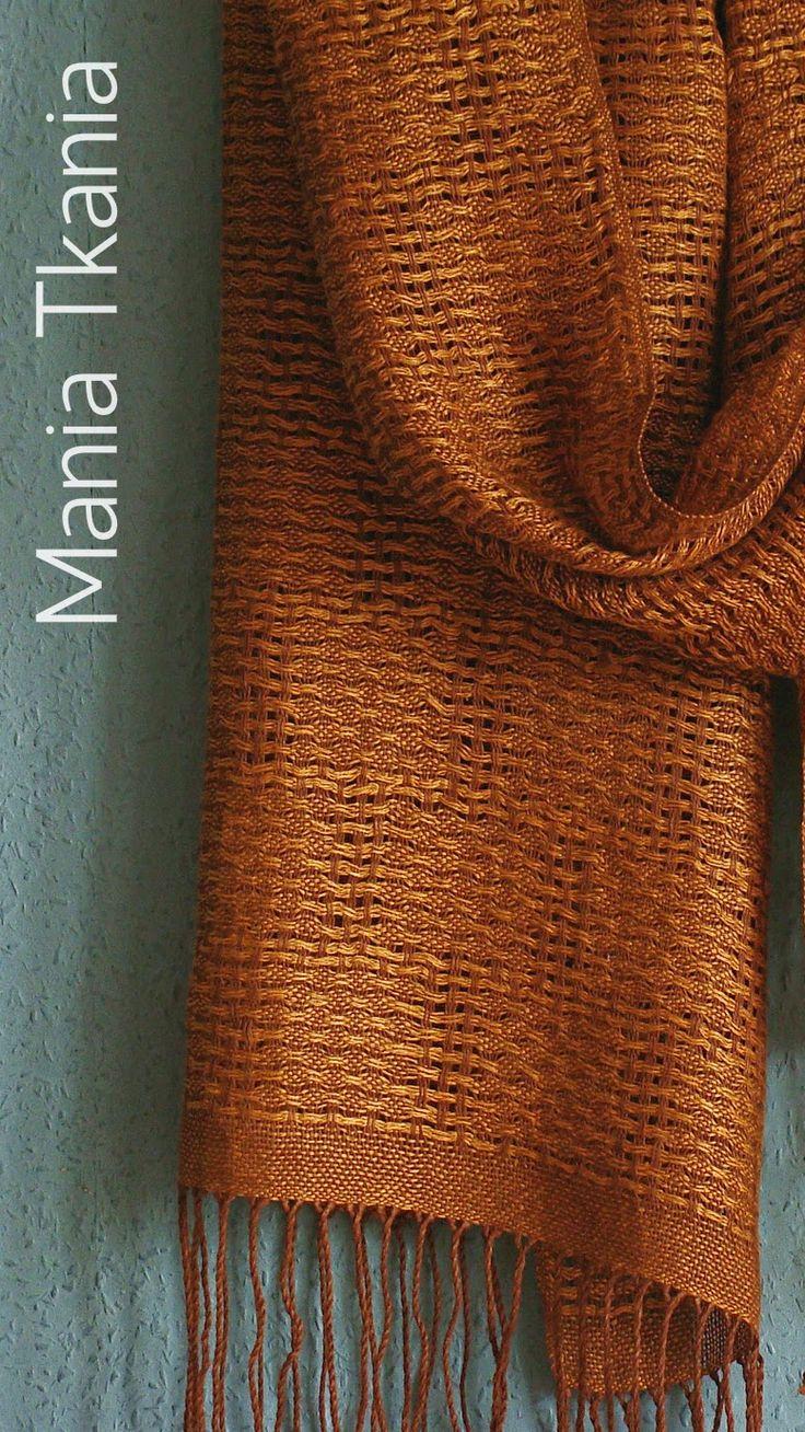 hand-woven shawl