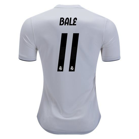 87eaef602 2018 2019 Gareth Bale Jersey Number 11 Home Authentic Men s Real Madrid Team