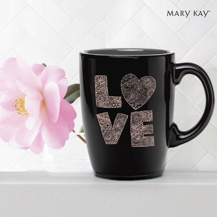 El amor siempre te motiva a empezar de nuevo cada día. ☺✨💖   #InspiraciónMaryKay #FelizLunes #Quotes #Frases