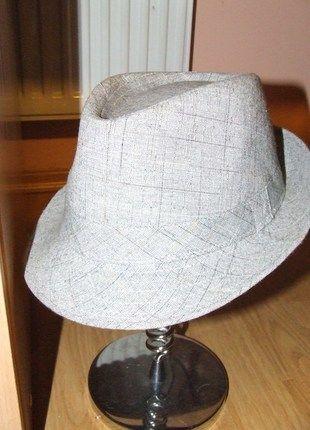 Kup mój przedmiot na #vintedpl http://www.vinted.pl/akcesoria/inne-akcesoria/6885596-szary-kapelusz-w-delikatna-krate