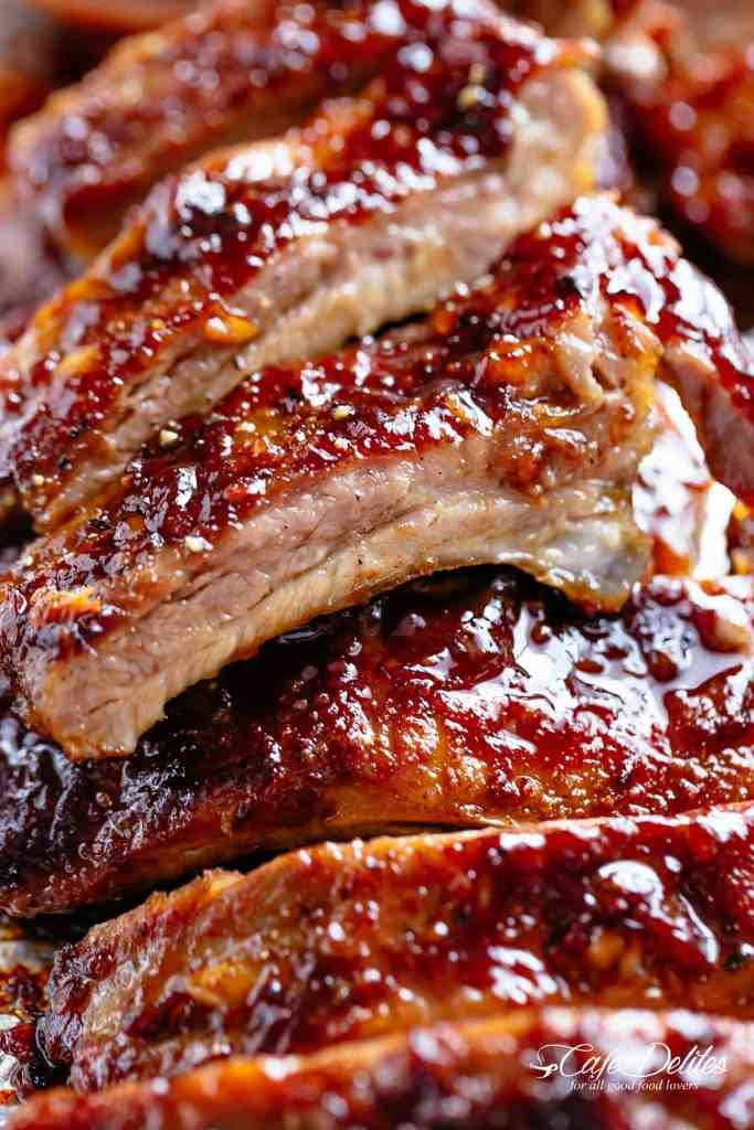 It S Whats For Dinner Pork Ribs Recipe And 30 Hd Food Photos Baked Bbq Ribs Ribs Recipe Oven Baked Ribs
