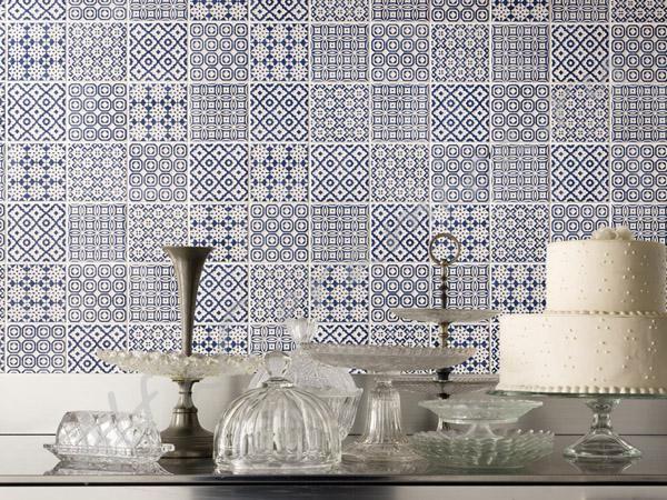 Плитка Batik Bayker - керамическая плитка батик бейкер - красивые узоры в приятных тонах, уникальная настенная плитка 10*10 в стиле лоскутного одеяла пэчворк.
