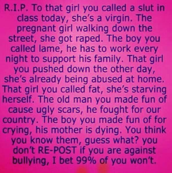 Short Bullying Quotes: 1000+ Images About A Little More Personal On Pinterest