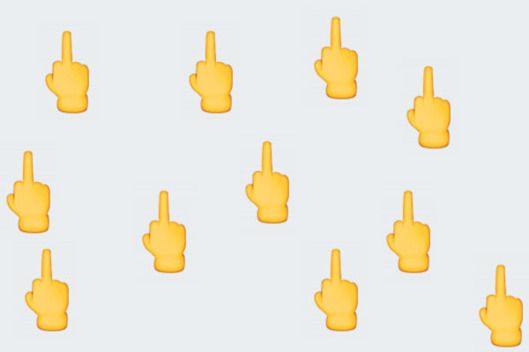 Just Think of the Uses for a Middle-Finger Emoji -- The Cut