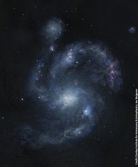Oldest Spiral Galaxy in the Universe Discovered