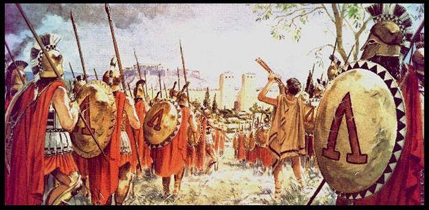Olympia: Pelópidas y Epaminondas y el Batallón Sagrado de Tebas