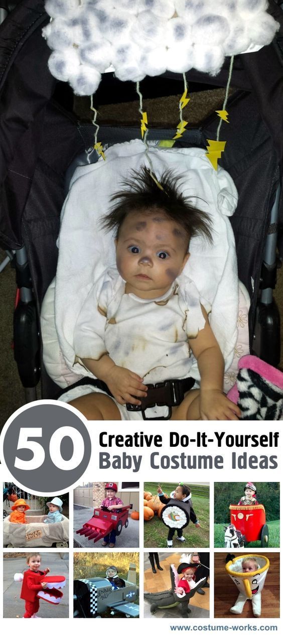 347 best creative costume ideas images on pinterest for Creative toddler halloween costumes