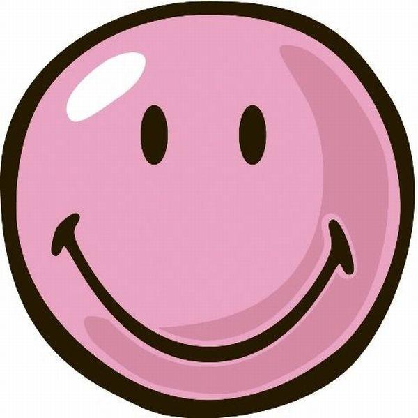 Fun Rugs Smiley World Smiley Pink Rug
