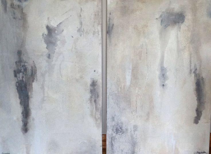 Acrylic and Mixed Media - 2 - 24 x 36 canvas