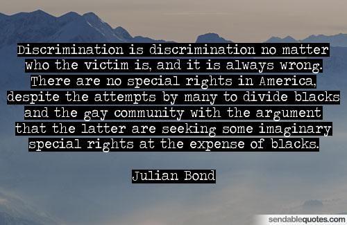 Julian Bond Quotes: Sendable eachQuotes