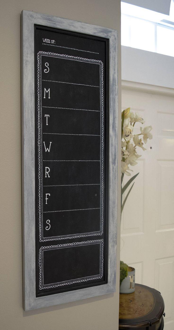 Chalkboard Calendar Framed : Best framed chalkboard walls ideas on pinterest