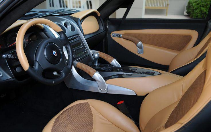Panoz Abruzzi Sportscar Interior 2011 (Desktop-Hintergründe)