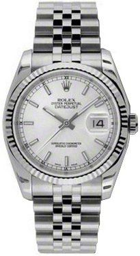 Men's Wrist Watches - Rolex Oyster Perpetual Datejust Mens Watch 116234 -- See this great product.