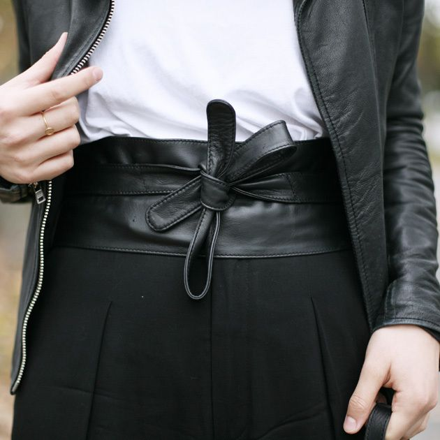 Outfit: Der Taillengürtel-Versuch | amazedmag