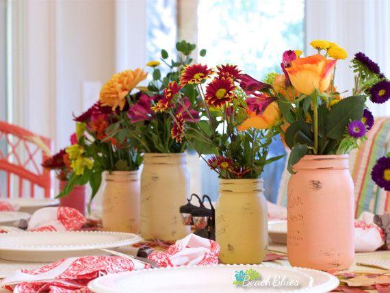 Cae centro de mesa / decoración para el hogar / acción de