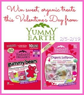 Just in time for Valentine's Day, a @YumEarth  Candy #Giveaway!