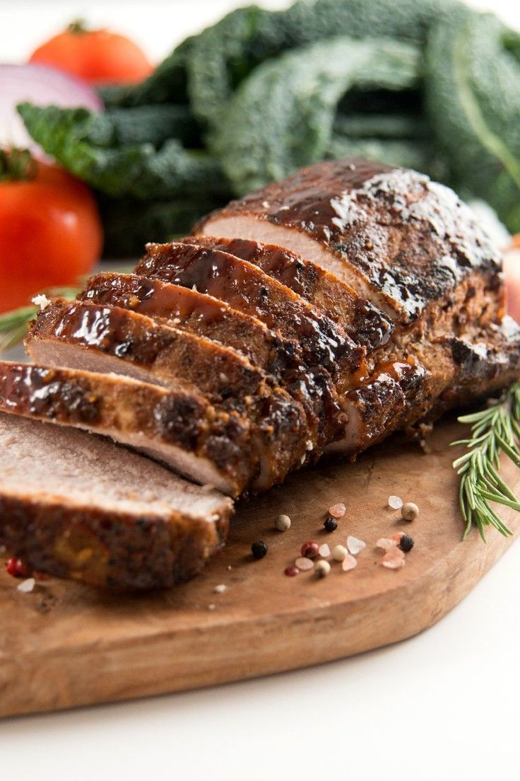 Weight Watchers North Carolina BBQ Pork Tenderloin With Mop Sauce Recipe