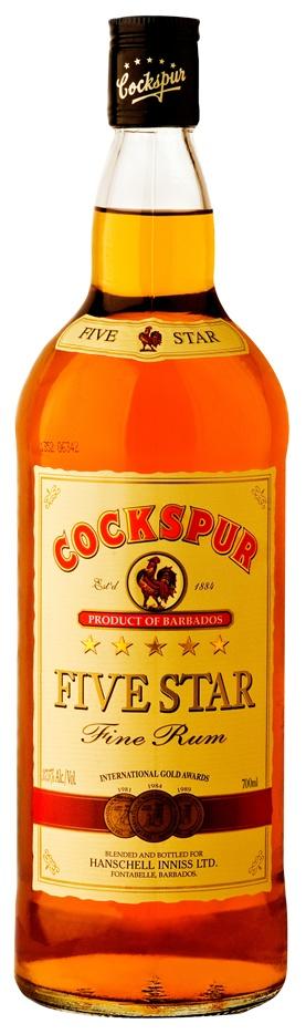 Cockspur Five Star Rum, Barbados
