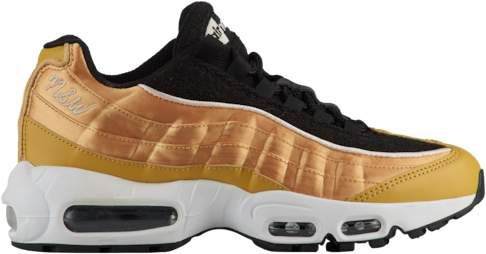 Nike Air Max 95 Running Shoes Wheat Gold Black Guava Ice White