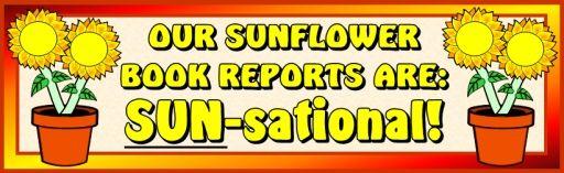 sunflower bulletin board banner ideas