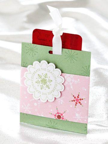Pretty Pastel Card Holder