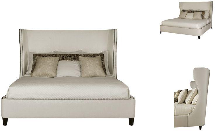 Bernhardt Furniture | Bernhardt Interiors Collection | 362 Wheeling Upholstered Bed