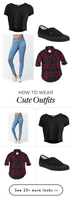 Este estilo aunque es algo sencillo siempre queda bien y es bueno para la vista . Cualquier jeans que sea claro o negro quedaría excelente. No creo que sea necesario la camisa de cuadros, esta combinación siempre es buena para aquellos días cálidos o algo calurosos. Bien uso de los tenis vans en negro, obviamente si fueran unos jeans negros o los converces blancos con jeans claros. La blusa es sencilla pero para mi es demasiado linda y siempre quedaría bien, si hubiera un color tinto y…