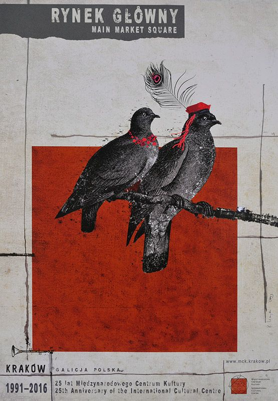 Ryszard Kaja, Rynek Główny, 2016, Size: B1