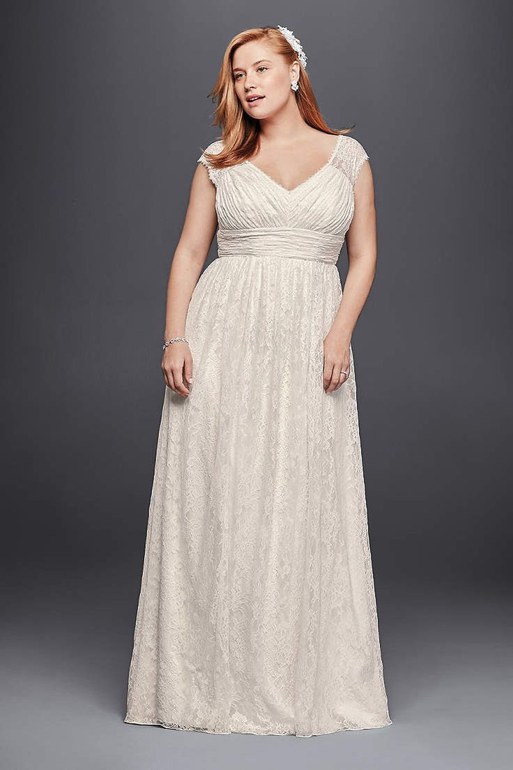 Beautiful David us Bridal has beautiful plus size wedding dresses that e in a variety of sizes u