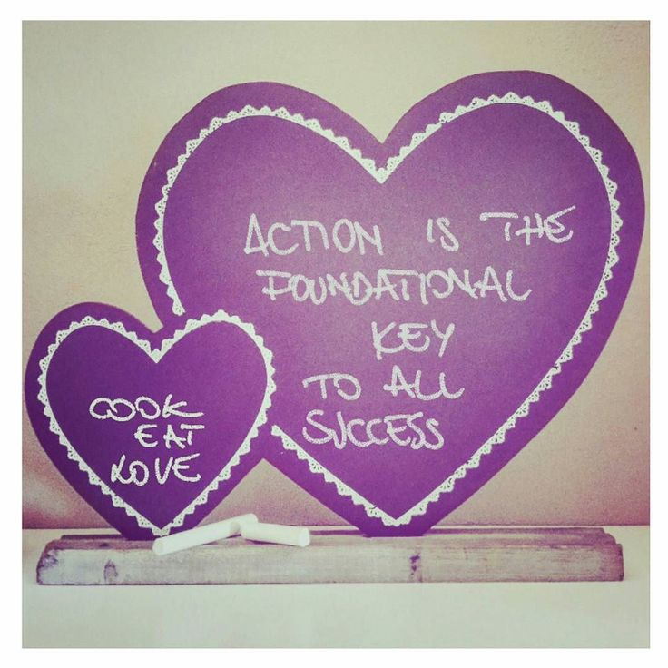 Aaction is the foundation key of all success