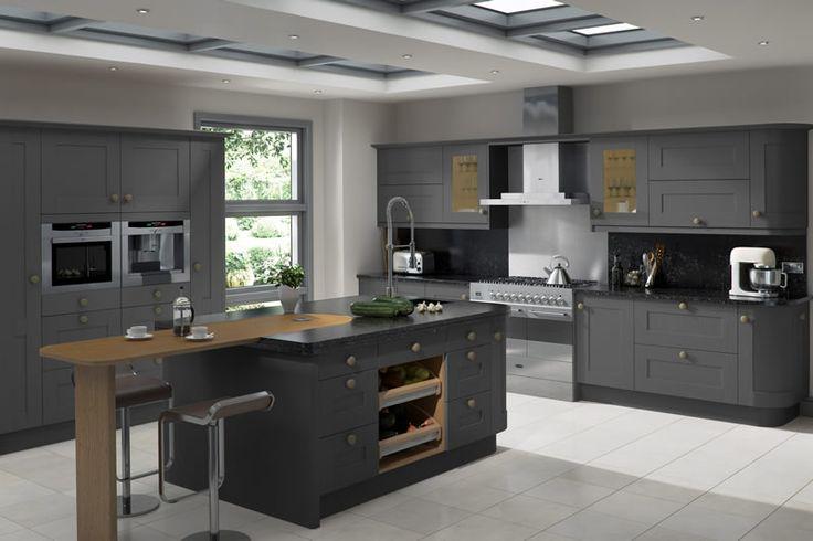 linwood graphite kitchens kitchen units making van vandog traveller