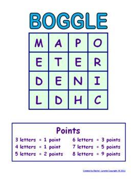 BoggleGames, Classroom Freebies, Teaching, Schools, Languages Art, Words Work, Word Work, Classroom Ideas, Boggle Templates
