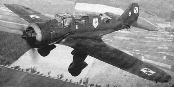 PZL.23B Karaś, No 6, 41 Eskadra Rozpoznawcza (41st Reconnaissance Squadron), September 1939