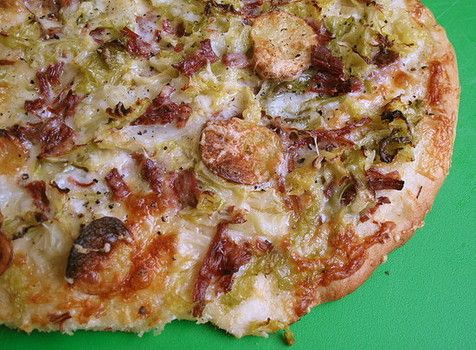 Corn Beef and Cabbage Pizza, just in time for St. Patrick's Day.  Check out the cool treats and fun things to do on St. Paddy's Day.  Click on the pic until you see the article and slideshow.
