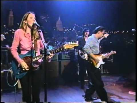 "Susan Tedeschi and Jimmie Vaughan, ""Let the Good Times Roll."" Jamming with Double Trouble, Austin, Texas, 12 Jan 1998. Susan is an American blues and soul musician, who has received multiple Grammy Award nominations, and is well known for her singing voice, guitar playing, stage presence, and marriage to blues guitarist, Derek Trucks. Trucks was the Allman Brothers Band slide guitarist; leads the Derek Trucks Band; and also performs with Susan as the Tedeschi Trucks Band or the Soul Stew…"