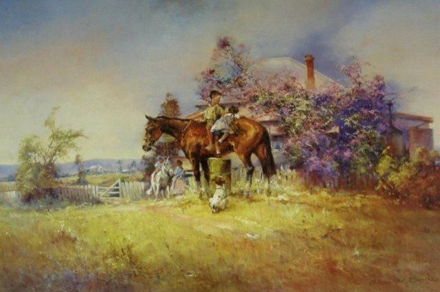 Off to School by D'Arcy Doyle