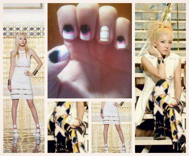 31 best nail art images on Pinterest | Nailart, Daesung ... Dara Falling In Love Nails