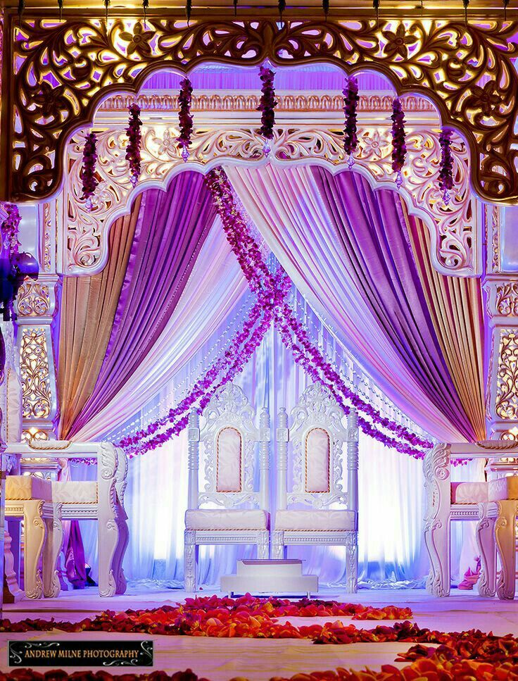 wedding stage decoration pics%0A See flowers draped across mandap Y u    all check out this wedding at the Ritz
