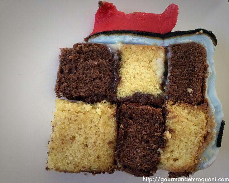 Sponge Cake Damier
