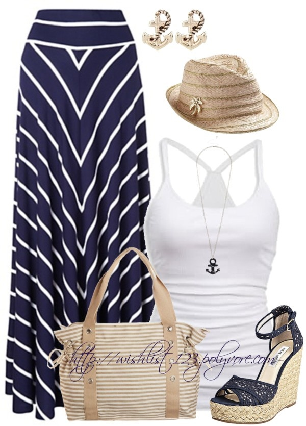 """""""Navy, Anchors and Sailors"""" by wishlist123 on Polyvore"""