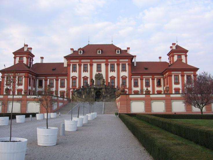 Česko, Praha - Trojský zámek
